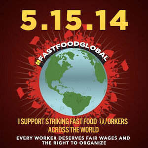 #fastfoodglobal - the global fight of fast food workers for decent wages and conditions
